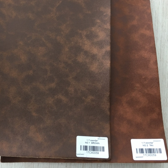 Embossing Label Pu Leather for Tags